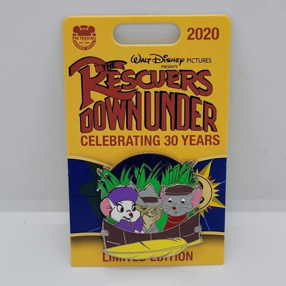 Disney pin Rescuers Down Under